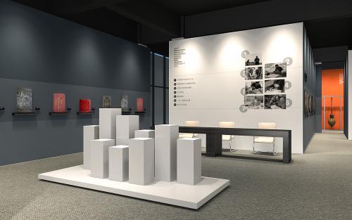 西宁滑轨屏 公司文化展厅设计_文化展厅设计效果图_文化展厅设计