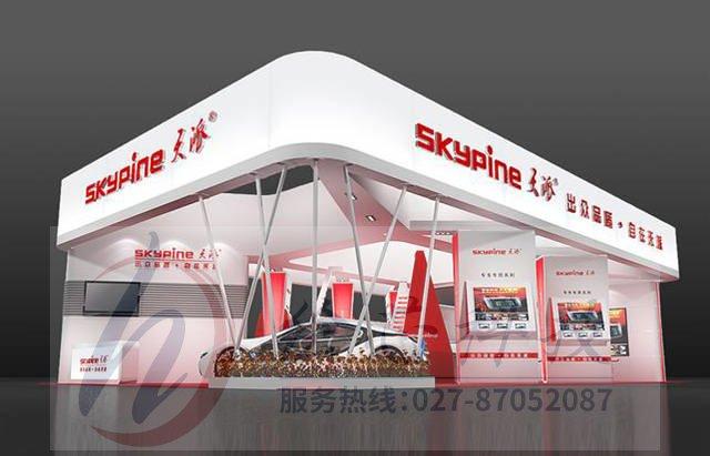 AR滑轨屏 展厅设计zhuodian_展厅搭建设计_橱柜展厅设计