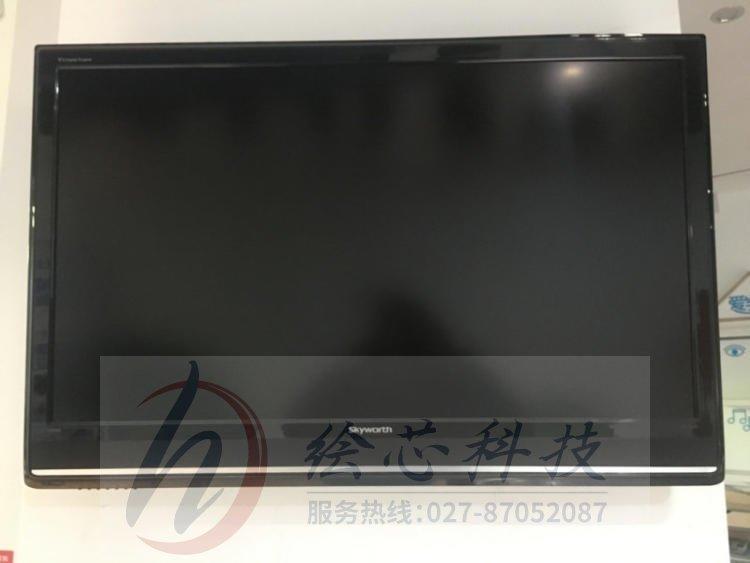 武汉旋转屏 广告机与电视机的对比和差别